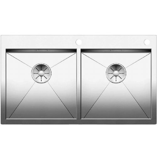 Blanco Zerox 400/400-IF/A Double Bowl Stainless Steel Sink